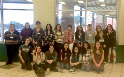 FBHS VASE students at regional competition held at Rockport HS