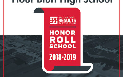 graphic Flour Bluff High School recognized as a 2018-2019 Texas Honor Roll School